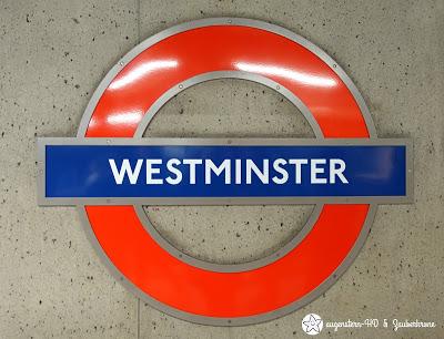 Westminster U Bahn