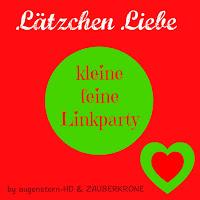 Linkparty Lätzchen Liebe