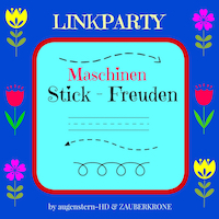 Linkparty Maschinen Stick-Freuden
